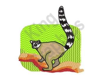 Lemur - Machine Embroidery Design