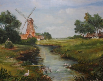 The Windmill countryside