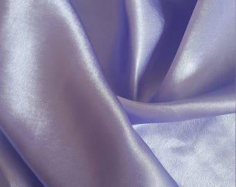 fabric purple satin 150 x 110 cm