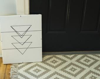 Geometric Triangles Sign