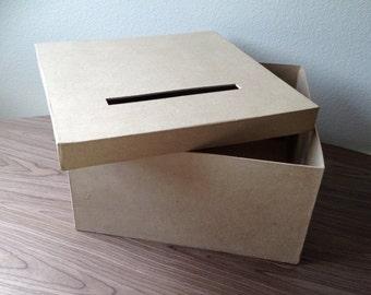 Diy wedding card box | Etsy