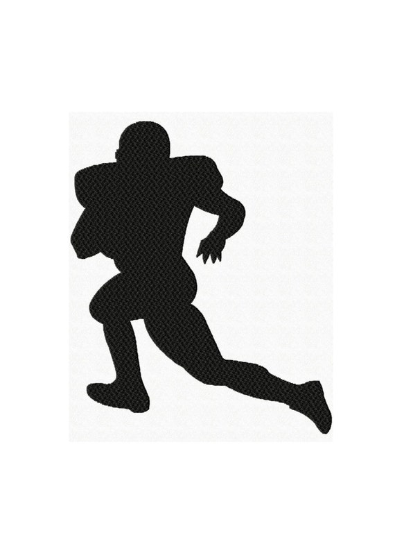Machine Embroidery Design Football Player