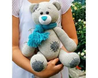 teddy bear, stuffed animals, amigurumi toy, soft toy, crochet toy, nursery decor, gift for kids, stuffed animal toy, amigurumi dolls