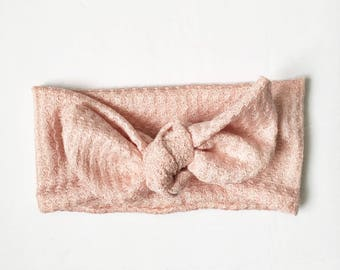Dusty Pink Baby Headband // Baby Head Wraps // Baby Topknot // Toddler Turbans // Baby Shower Gift // Infant Headband // Baby