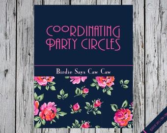 Coordinating Party Circles A La Carte