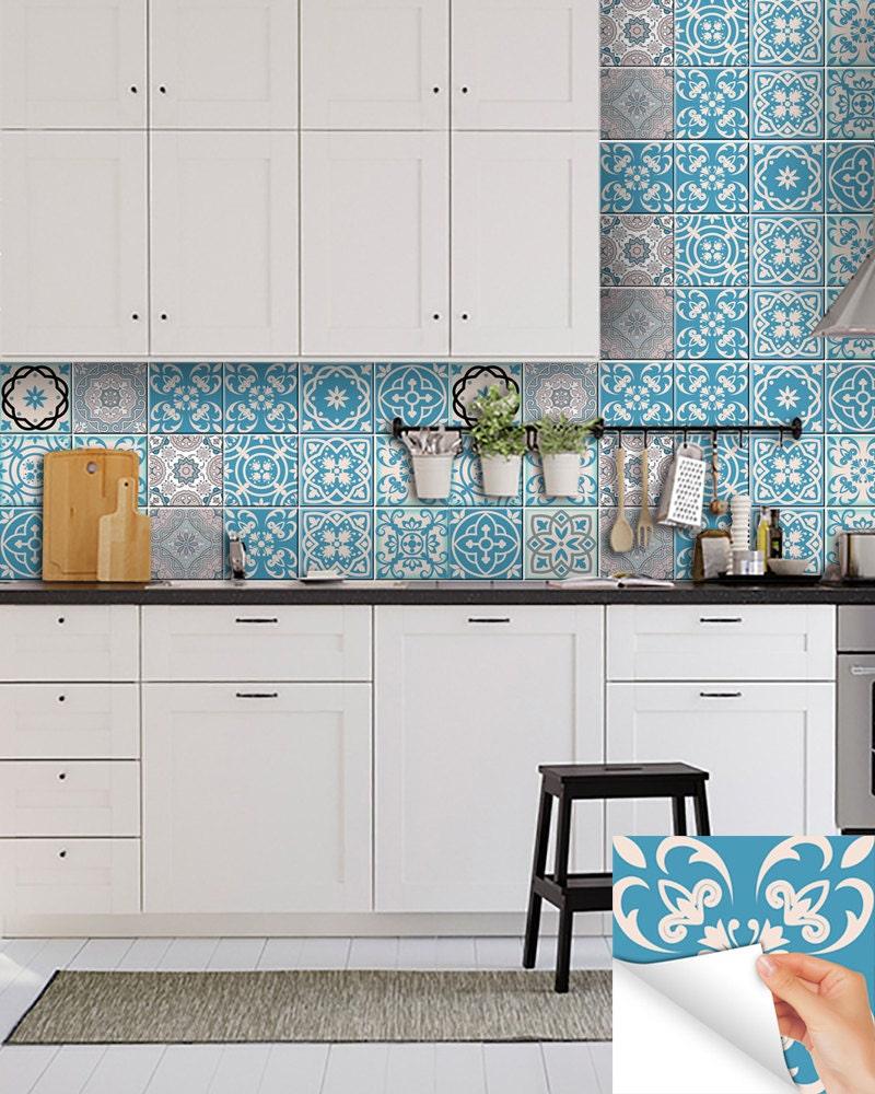 Keuken Stickers Nieuwe Portugese Tegel Stickers Home Decor