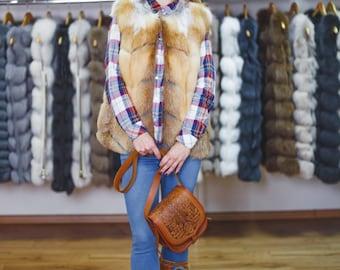Fur vest from Fox