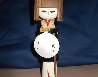 Japan vintage kokechi doll