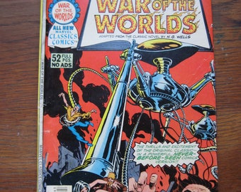 War of the Worlds comic, Vol. 1, No. 14, 1976