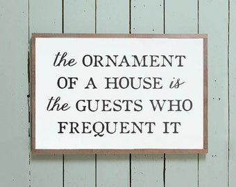 Guest Room Sign, Guest House Decor, Fixer Upper Sign, Bedroom Sign, Be Our Guest Sign, Farmhouse Sign, Joanna Gaines, Magnolia Sign