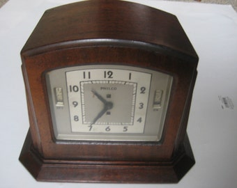 Philco Model A Radio Clock 1931 (ESTATE FIND)