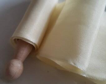 Spring Time Habotai Silk Ribbon