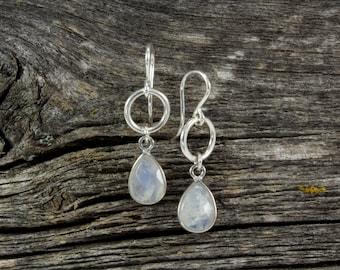 Moonstone Spirit Stone Earrings