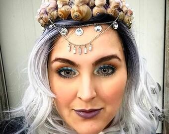 Queen Mermaid Crown