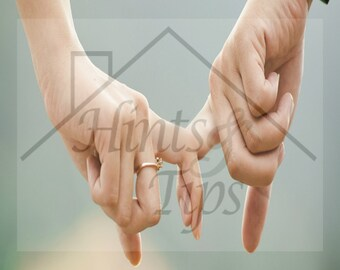 Marriage Printable: Marriage, you do it together!  couple, marriage, holding hands