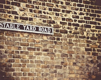 Stable Yard Road,London,England-Fine Art Photography-Multiple Sizes Available,Travel,London,Brick,Architecture