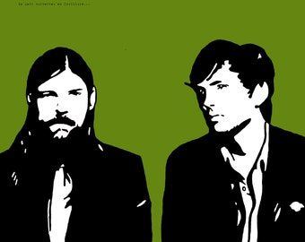 The Avett Brothers Art Print