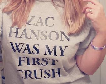 Zac/Taylor/Isaac Hanson was my first crush