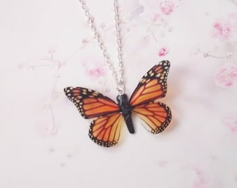 necklace monarch butterfly