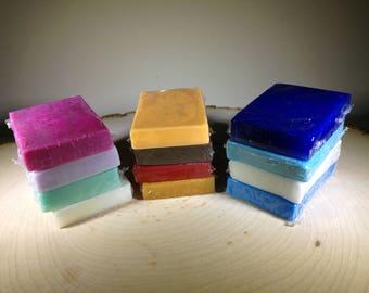 Soap samples Favors Soap sampler CHOOSE YOUR OWN Mini Soaps Handmade custom Soap Hemp soap Men's soap Guest soap Travel Soap Vegan Soap gift