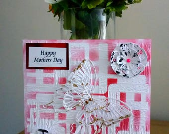 Mothers Day Card Handmade.