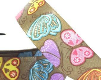 Butterfly Ribbon 22mm