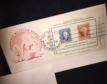 1947 Century of US Postage Cover