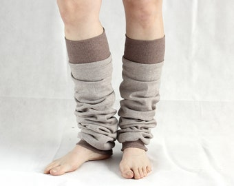 100% cotton Dancer leg warmers cotton leg warmers yoga socks yoga leg warmers