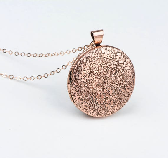 lockets drop necklace uk leaves small gold vermeil img