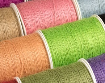 Jute String (3m length) Twine for Craft Projects and Hanging Decorations and Tags