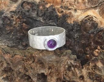 Ring 925/-Amethyst
