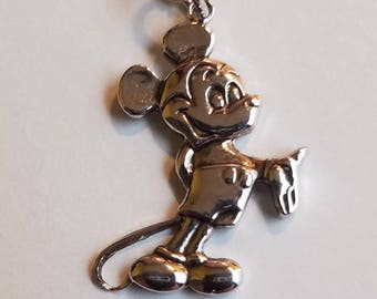 Disney Mickey Mouse Sterling Silver Vintage necklace