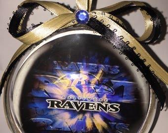 Baltimore  ravens ornament