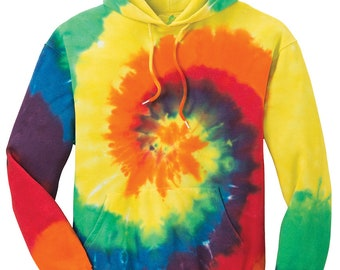 Koloa Surf Co Colorful Tie-Dye Hooded Sweatshirts - Sizes S-4XL