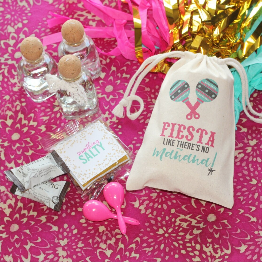 FIESTA like there\'s no MANANA Personalized Favor Bags