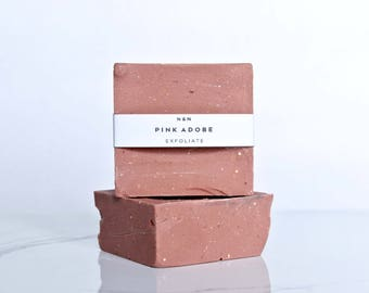Pink Adobe | All Natural Handmade Soap | Relax |  Vegan soap | Eco-Friendly Soap | Cold Process Soap