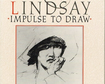 Norman Lindsay - Impulse To Draw -  Lin Bloomfield - 1984