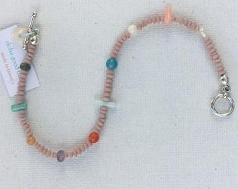 Semi precious beaded Bracelet