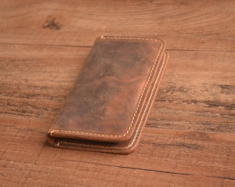 Leather iPhone 6 Wallet Case ,Leather Wallet,Leather Case,Phone Wallet, iPhone 6s, iPhone 6PLUS, iPhone 6sPLUS - Personalized, Custom