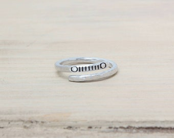 Jeep Ring - Wire Ring - Jeep Grill - Round and Square - Jeep Jewelry