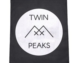Twin Peaks Cloth Large Back Patch