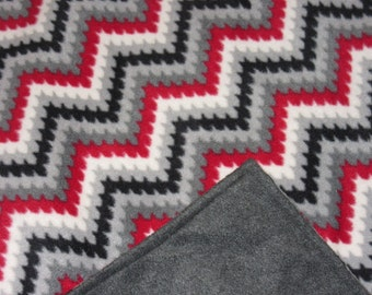 Fleece Sewn blankets - Fleece Blankets - Afghan