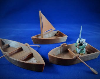 DND|DND Boat|Boat Terrain|Tabletop|Gaming|Board|Wargaming|28mm|Dungeons|Dragons|Role Playing|RPG|Boat|Dm Gift|Dice|5e|40k|dandd