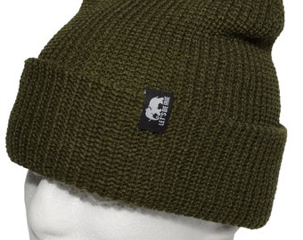 Pow Beanie by LET'S BE IRIE - Olive
