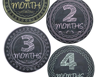Baby Milestone Stickers Baby Monthly Stickers Monthly Bodysuit Stickers Monthly Baby Stickers Photo Baby Sticker Month by Month Shower Gift