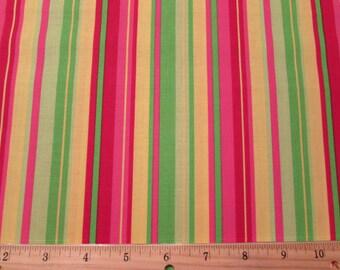 Multi Color Stripe Fabric From VIP