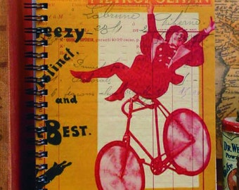 When in Danger or in Doubt, Run in Circles, Scream and Shout  5x7 Lined Journal