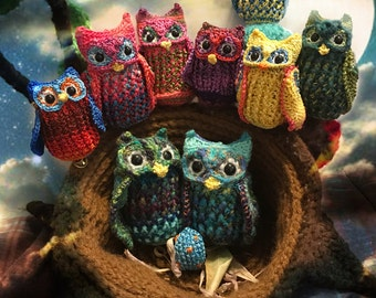 DianaDelightful's Owls Crochet PATTERN ONLY