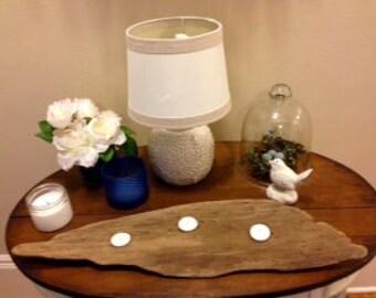 Driftwood Tea Light Centerpiece
