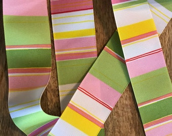 Preppy Color Ribbon 1.5  sold by the yard